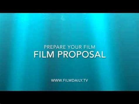 Write a movie proposal letter